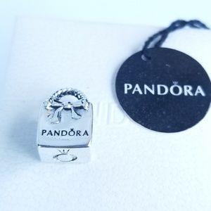 PANDORA Charm PANDORA Shopping Bag Retured Silver
